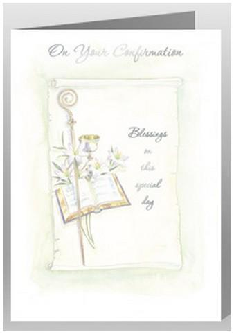 Confirmation Day Card - Bible