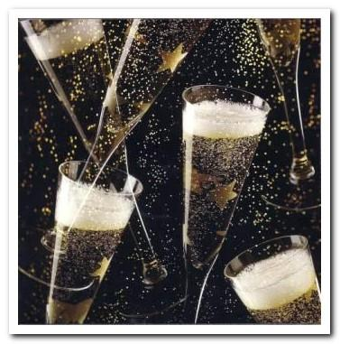 Congratulations Card - Congratulations - Champagne Glasses