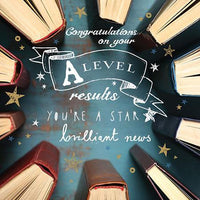 Congratulations Card - Exams A Level - Circle Of Books