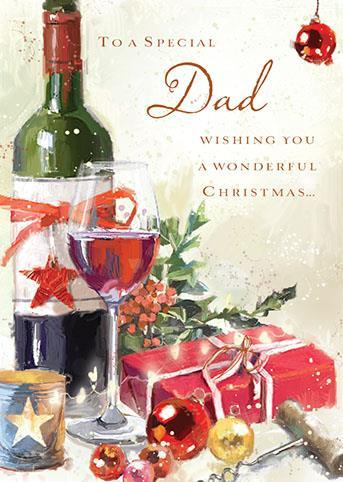 Christmas Card - Dad -  Christmas Cheer
