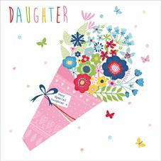 Female Relations, Daughter Birthday - Daughter Birthday - Floral Bouquet