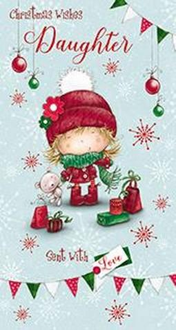 Christmas Card - Daughter - Little Girl