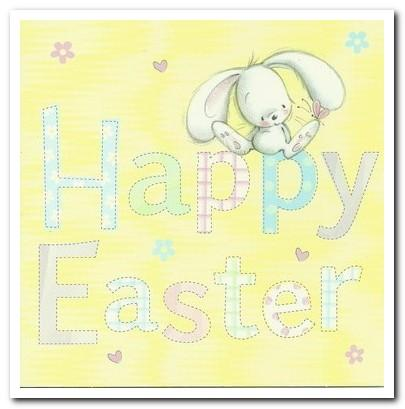 Easter Cards - Pack of 4 - The Easter Bunny