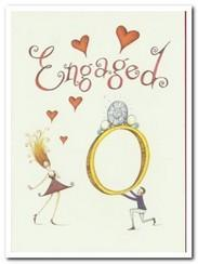 Engagement Card - Engaged