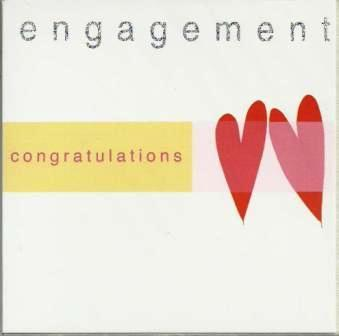 Engagement Card - 2 Hearts
