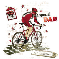Father's Day Card - Cycling