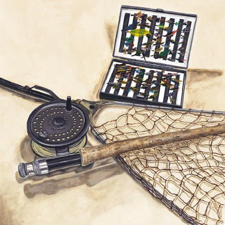 Father's Day Card - Fishing Kit