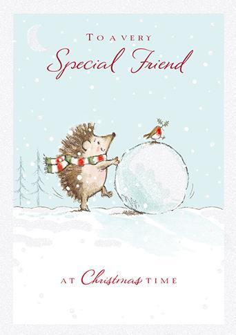 Christmas Card - Special Friend - Most Wonderful Time Of The Year