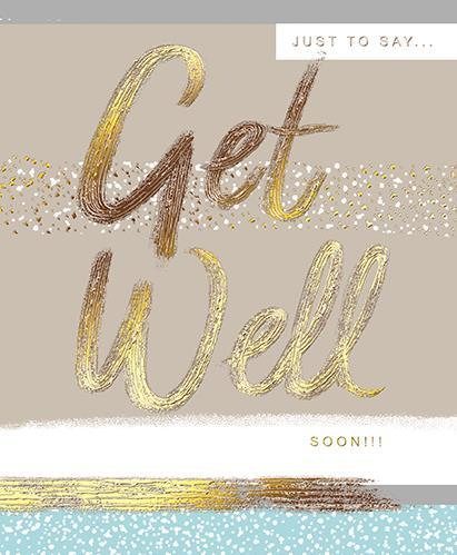 Get Well Soon Card - Get Well Soon!!!