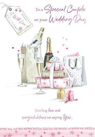 Wedding Card - Champagne