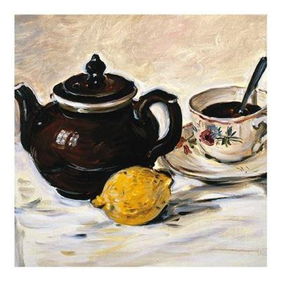 Get Well Soon Card - Still Life With Teapot