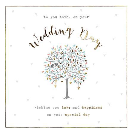 Wedding Card - Love & Happiness