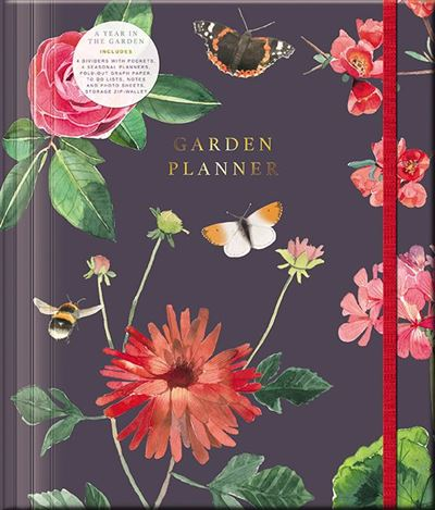 A Year In The Garden Planner Ring Binder – Bees & Butterflies