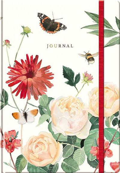 A Year In The Garden Journal - Bees & Butterflies
