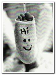 Get Well Soon Card - In Plaster