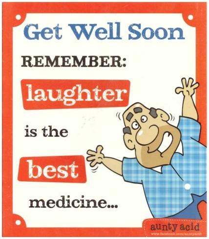 Get Well Soon Card - Best Medicine