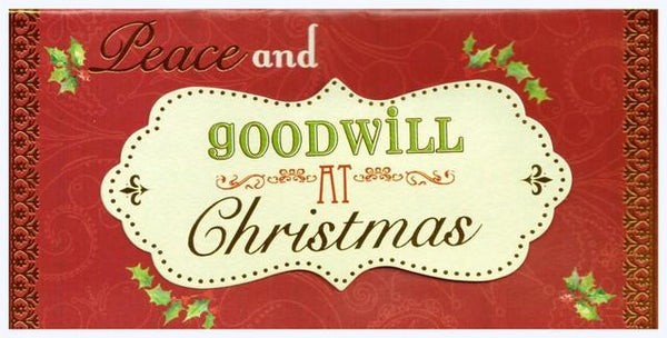 Christmas Card - Gift Wallet - Script