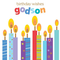 Godson Birthday - Candles