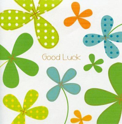 Good Luck Card - Good Luck Clover