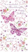 Granddaughter Birthday - Two Butterflies