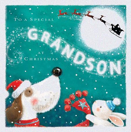 Christmas Card - Grandson - Make A Wish