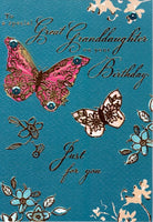 Great-Granddaughter Birthday - Butterflies