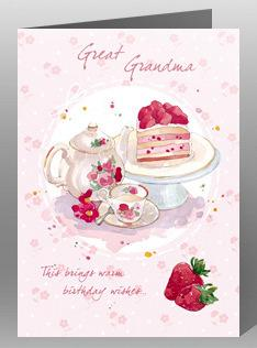 Great-Grandma Birthday - Tea & Cake