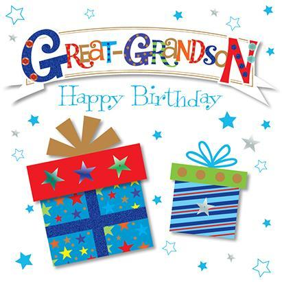 Great-Grandson Birthday - Gifts