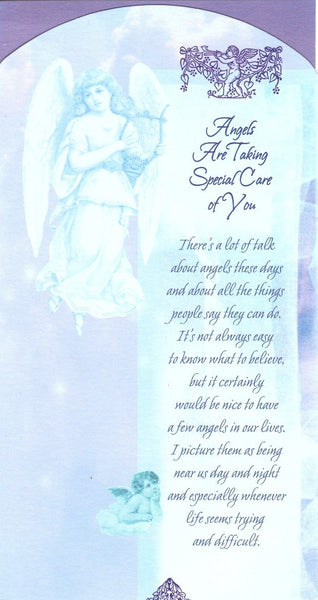 Thinking of You Card - Angels are taking special care of you