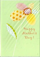 Mother's Day Card - Multi Petal Flower Stem