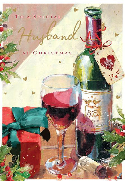 Christmas Card - Husband - Merry Christmas
