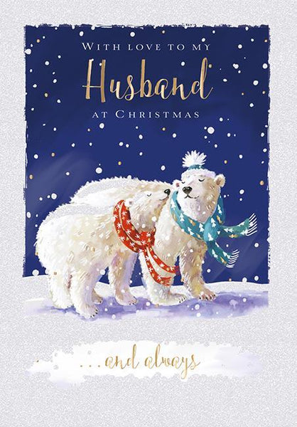 Christmas Card - Husband - Getting Cosy