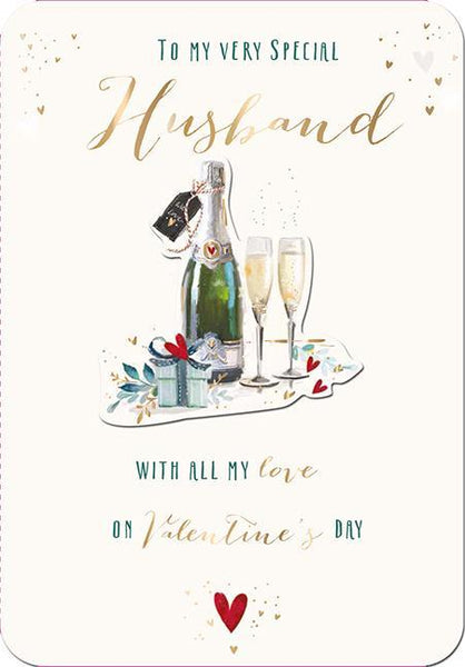 Valentine Card - Husband - With Love