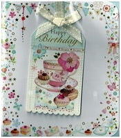 Birthday Card - Tea & Cakes