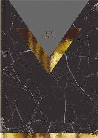 Big Ideas Journal - Dark Marble