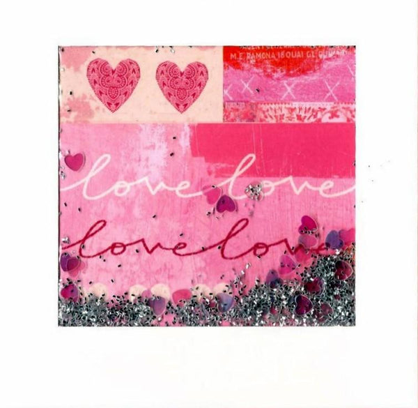 One I Love Card - Love Confetti