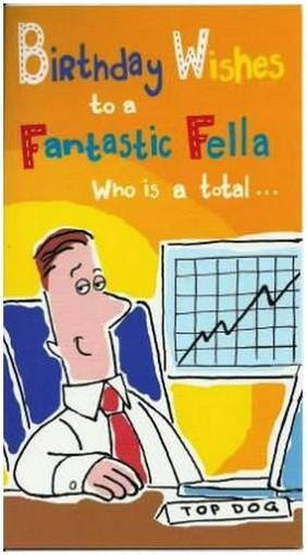 Humour Card - Fantastic Fella