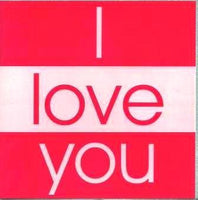 One I Love Cards - I Love You