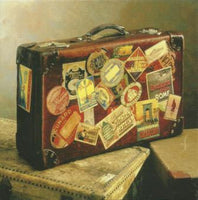 Leaving / Goodbye Card - Suitcase