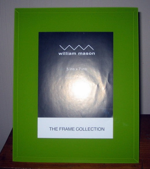 Photo Frame Green Glass