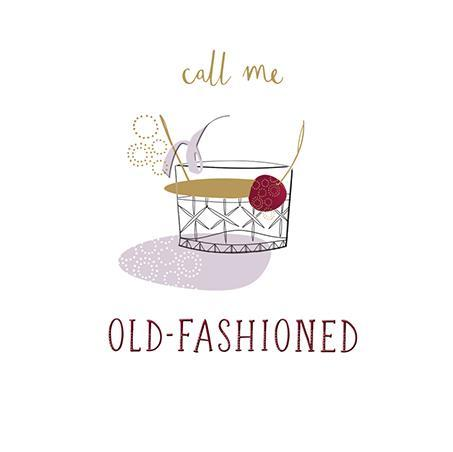 Birthday Card - Old Fashioned
