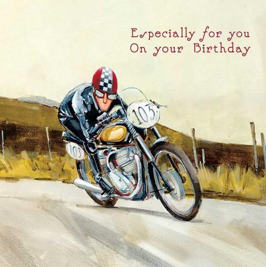 Birthday Card - The Open Road