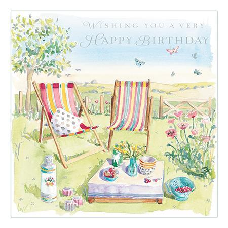 Birthday Card - Summer Picnic