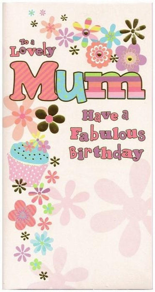 Mum Birthday - Contemporary Text