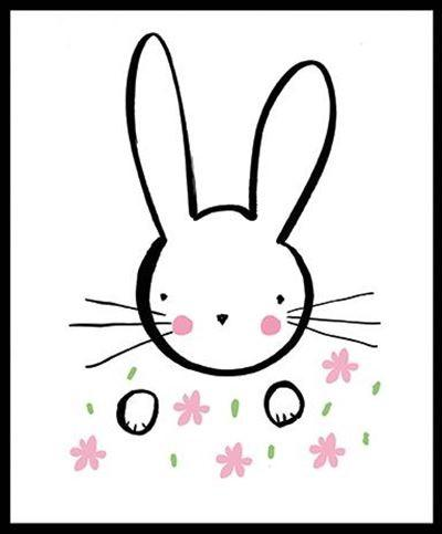 Children's Birthday Card - Bunny