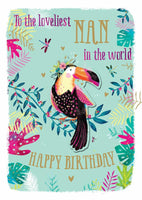 Nan Birthday - Toucan