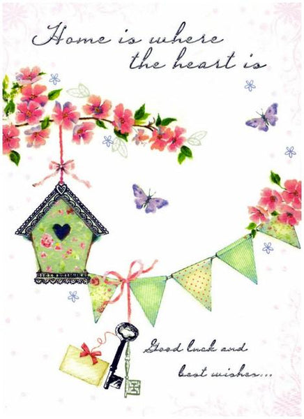 New Home Card - Bird House