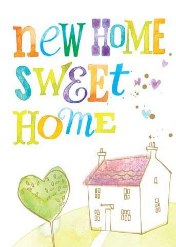 New Home Card - Home Sweet Home
