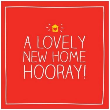 New Home Card - Lovely New Home