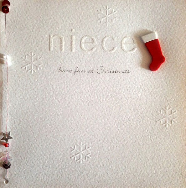 Christmas Card - Niece - Little Letters